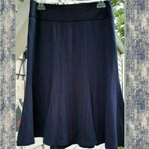 Betsey Johnson Sexy Secratary Pinstriped skirt
